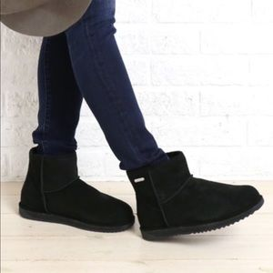 Emu Paterson Lo Waterproof Suede Sheepskin Boots